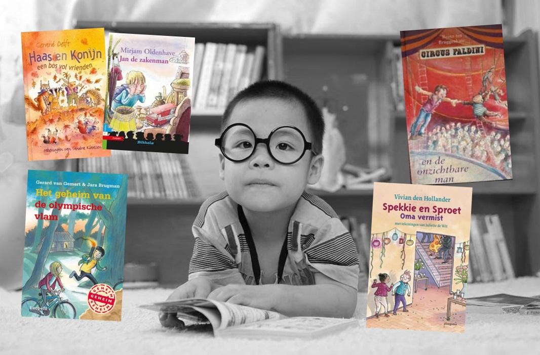 5 kinderboeken op E5 niveau