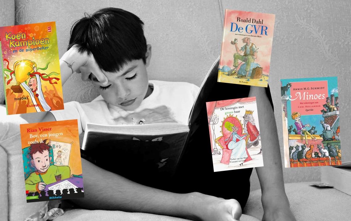 5 kinderboeken op M5 niveau