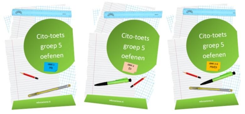 Cito-toets Groep 5 Oefenboeken