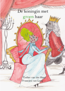 De koningin met groen haar